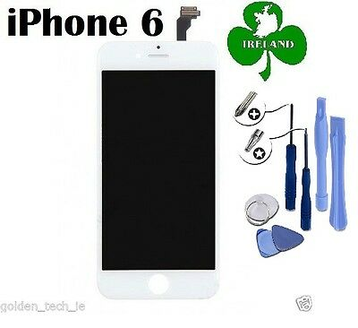For iPhone 6 LCD Touch Screen Display Digitizer Glass Assembly Unit White Tools