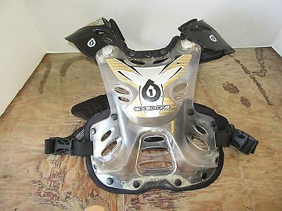 661 Six Six One Chest Protector Roost Guard Pee Wee Youth Motocross Dirt Bike
