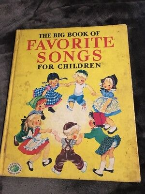 The Big Book Of Favorite Songs For Children In 1976 Printing
