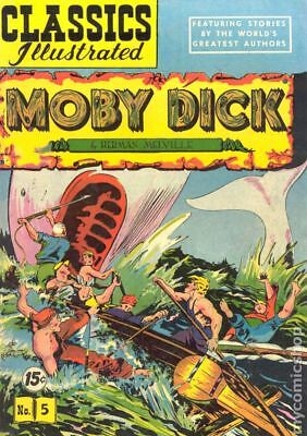 Classics Illustrated 005 Moby Dick (1942) #12 GD/VG 3.0 LOW GRADE