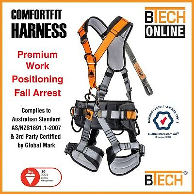 Safety Harness COMFORTFIT Work Positioning Fall Arrest Aust Compliance