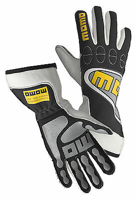 Momo Racing Protective Gloves Genuine Guatligblk08 Gloves Top Light Black 8