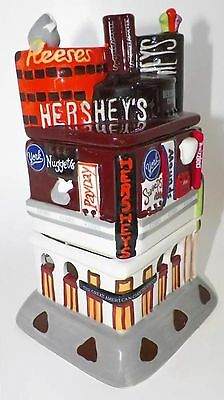 Hershey's Times Square Dessert Fondue Candle Holder Tealight Candy Factory Dish