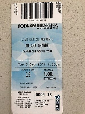 Ariana Grande Tickets 5th Sept