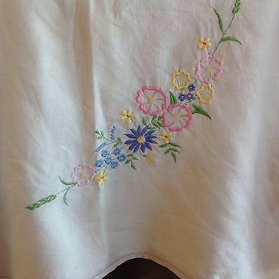 Hand Embroided Table Or Supper Cloth