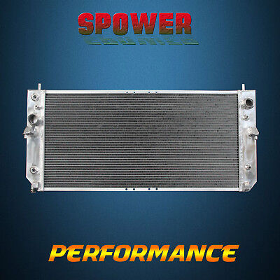 2-Row/CORE Aluminum Radiator For Cadillac Seville SLS STS V8 4.6L AT MT 98-00
