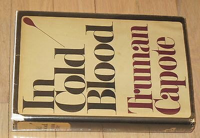 IN COLD BLOOD - Truman Capote - 1965 1st Printing - Book of the Month Edition