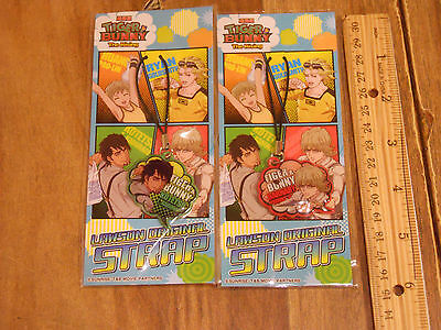 TIGER & BUNNY THE RISING x LAWSON ORIGINAL STRAP SET OF 2 • $6.00
