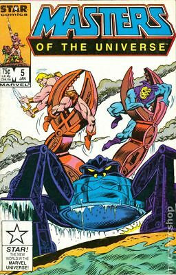 Masters of the Universe (1986 2nd Series Marvel/Star Comics) #5 VF+ 8.5