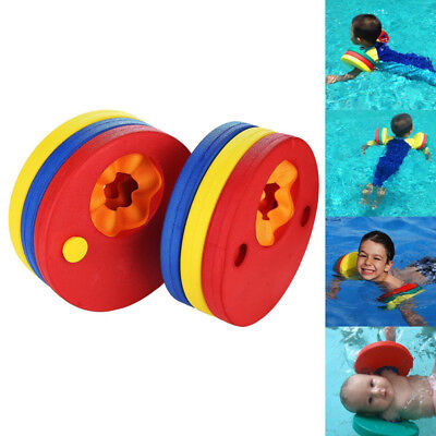 1 / 6Pcs Swim Discs EVA Foam Arm Bands Float for Swimming Baby Kids Children New