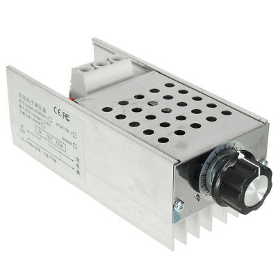 AC 110V 220V 10000W SCR Voltage Regulator Motor Speed Controller Dimmer Thermo