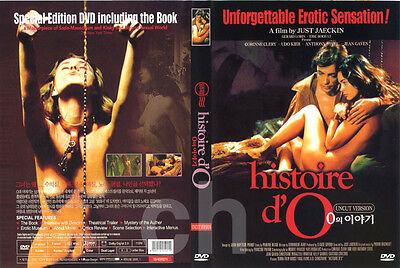 The Story Of O, Histoire d'O (1975) -Just Jaeckin, Udo Kier, Jean Gaven  DVD NEW