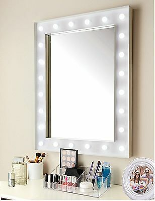 Hollywood 24 Led Light Bathroom Dressing Room Make Up Cosmetic Hanging Mirror