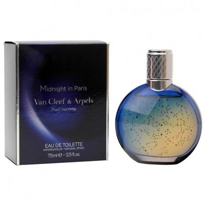 van Cleef & Arpels Midnight in Paris Pour Homme 75 ml EDT Eau de Toilette Spray