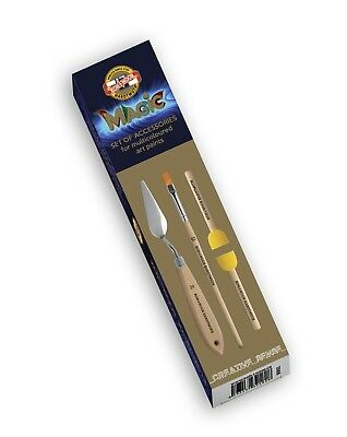 KOH-I-NOOR SET OF UTENSILS - Perfect for multicoloured art paints