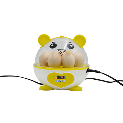 Mini 7 Egg Incubator Automatic Digital Hatcher Chicken Poultry Home Experiment