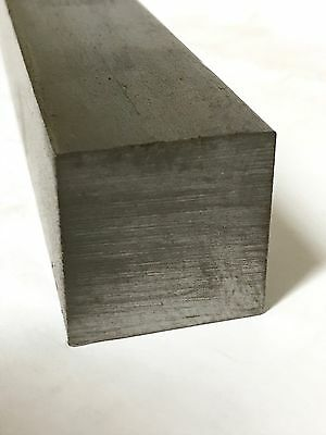 """*LOWEST PRICE* 1.5"""" Square Bar 12"""" Long Cold Rolled Steel C1018  *FREE SHIPPING*"""