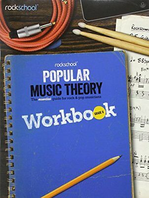 Rockschool Popular Music Theory Workbook Grade 6 Bk,PB,Various - NEW