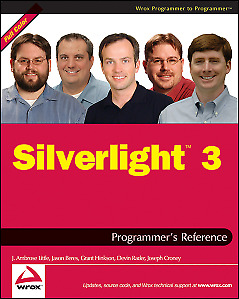 Silverlight 3 Programmers Reference (Wrox Programmer to Programmer),PB,J. Ambro