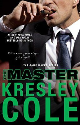 The Master (The Game Maker Series),PB,Kresley Cole - NEW