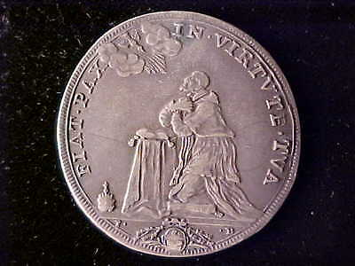 Papal Innocent Xii ½ Piastre Year Vii Very Fine