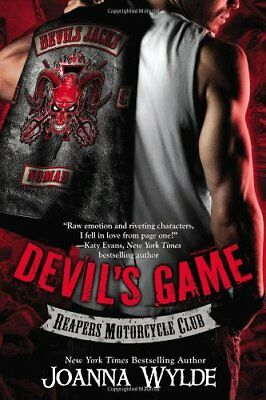 Devil's Game (Reapers Motorcycle Club),PB,Joanna Wylde - NEW