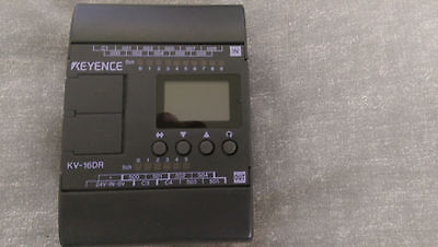 Keyence PLC Programmable controller KV16DR  inc. programming software and lead