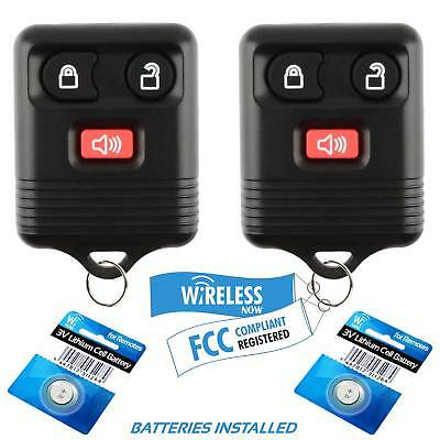 2 Car Key Fob Remote For 1998 1999 2000 2001 2002 2003 2004 Ford Expedition