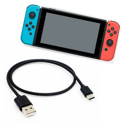 1M USB Charging Cable Type-C Power Lead Charger for Nintendo Switch / Lite