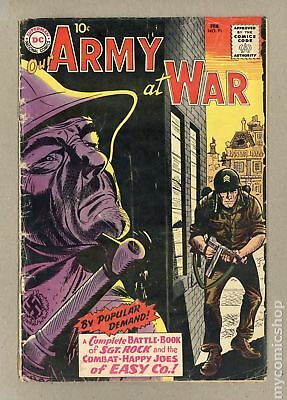 Our Army at War (1952) #91 GD- 1.8