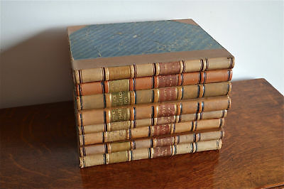 A collection of antique leather bound books Justice of the peace law books 1920