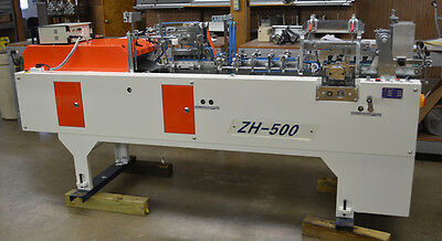 ZH-500 Mini Automatic Folder Gluer