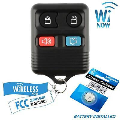 Car Key Fob Keyless Entry Remote 4B For 2011 2012 2013 2014 Ford Mustang