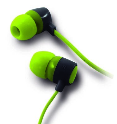 Ksix Headphones Go And Play Small2 With Microphone One Size Green