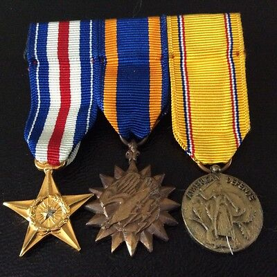 US military medals / campaign miniatures Star / American Defense