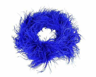 BO901 Ostrich feather boa 2 ply, approx 150cm long