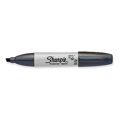Sharpie Slate Grey Permanent Marker Broad Chisel Point Tip New 1927296