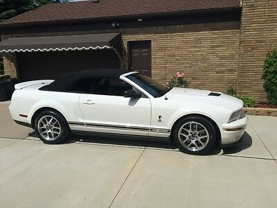 2008 Ford Mustang Shelby GT500 convertible 2008 Ford Mustang shelby gt500 convertible