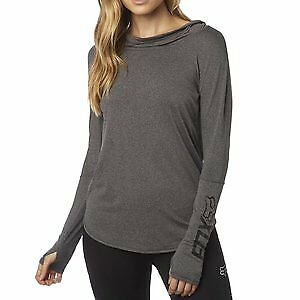 Fox Racing Contoured Womens Pullover Hoody Gray