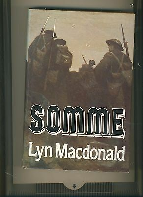 Somme, Macdonald, Lyn Hardback Book The Cheap Fast Free Post