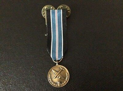 US For Humane Action Germany medal miniature