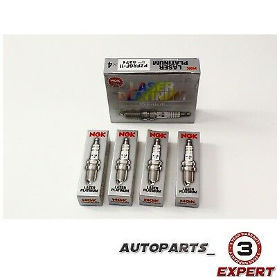 4PCS-NGK Laser Platinum Spark Plugs Set 3271//PZFR6F11 for Acura Honda Dodge