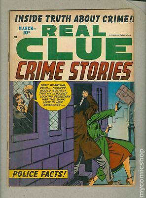 Real Clue Crime Stories Vol. 8 (1953) #1 GD/VG 3.0 LOW GRADE
