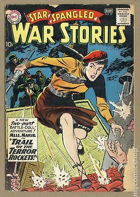 Star Spangled War Stories (1952 #3 to 204) #89 GD- 1.8
