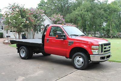 2008 Ford F-350 4WD XLT Flat Bed Powerstroke Diesel One Owner Perfect Carfax Flat Bed Powerstroke Diesel 6 Brand New Tires
