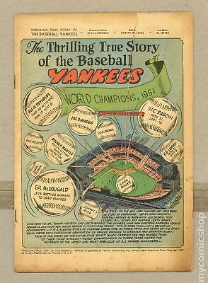 Thrilling True Story of the Baseball Yankees (1952) #0 Coverless 0.3