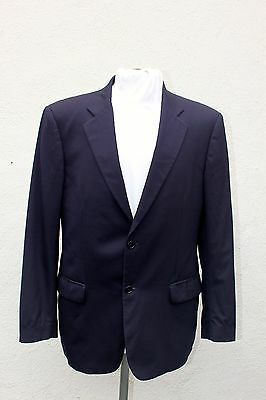 EUC JOHN VARVATOS Men's Sport Coat, size 42, Navy Blue