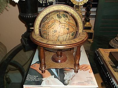 Antique Style Tabletop Astrological Old World Globe
