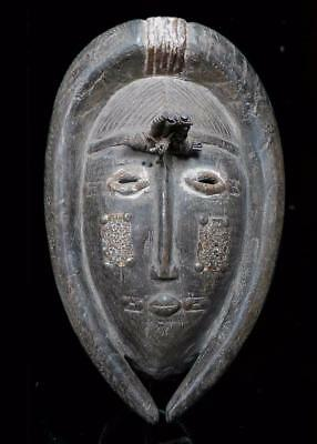 Outstanding  Tribal Large Ligbi  Ceremonial   Mask       --- Coted'Ivoire  BN 3