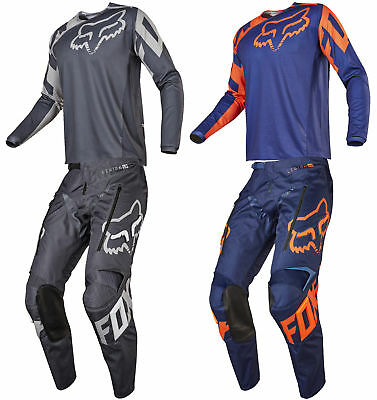 Fox Racing Mens Legion LT Dirt Bike Offroad Jersey & Pants Kit Combo MX Off-Road